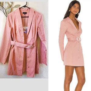 NWT majorelle pink blazer mini dress